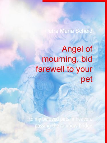 Angel of mourning, bid farewell to your pet