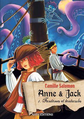 Anne et Jack, Tome 1 : Fantômes et tentacules