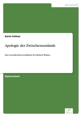 Apologie der Zwischenzustände