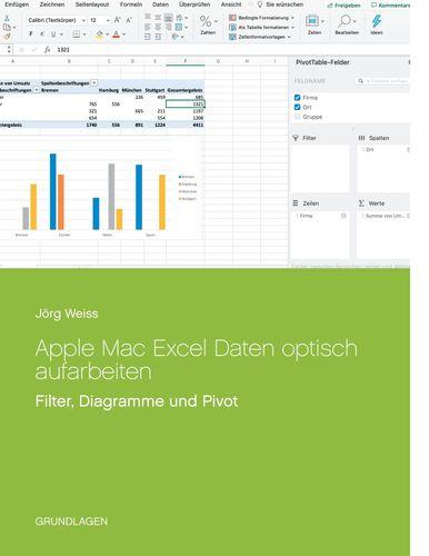 Apple Mac Excel Daten optisch aufarbeiten
