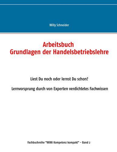 Arbeitsbuch Grundlagen der Handelsbetriebslehre