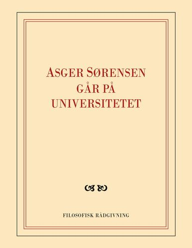Asger Sørensen går på universitetet
