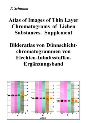 Atlas of Images of Thin Layer Chromatograms of Lichen Substances. Supplement