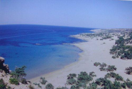 Ausgewählte Mineralien und Fossilien von der Insel Gavdos.