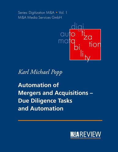 Automation of Mergers and Acquisitions