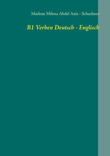 B1 Verben Deutsch - Englisch