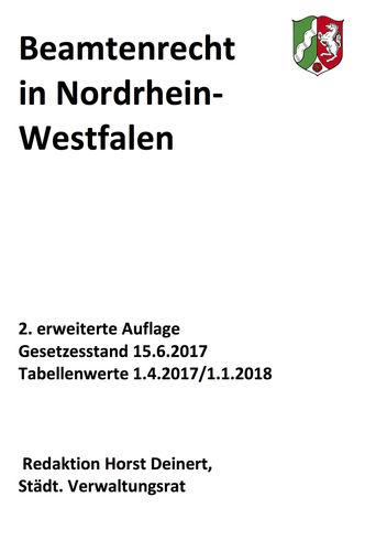 Beamtenrecht in NRW