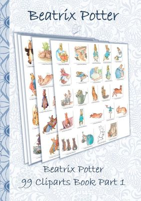 Beatrix Potter 99 Cliparts Book Part 1 ( Peter Rabbit )