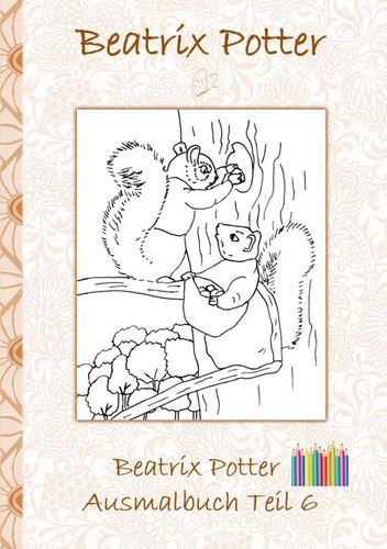 Beatrix Potter Ausmalbuch Teil 6 ( Peter Hase )