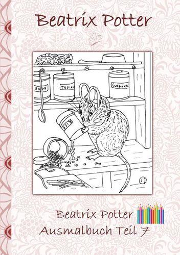 Beatrix Potter Ausmalbuch Teil 7 ( Peter Hase )