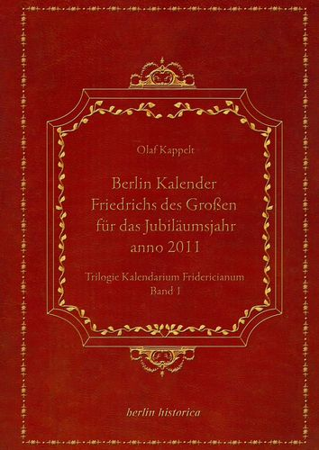Berlin Kalender Friedrichs des Großen