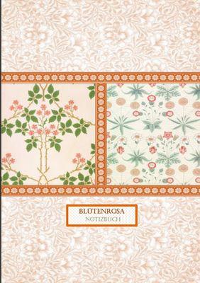 Blütenrosa Notizbuch