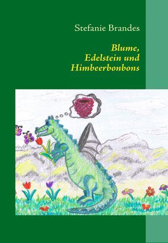 Blume, Edelstein und Himbeerbonbons