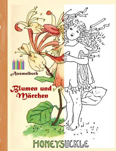 Blumen und Märchen (Ausmalbuch)