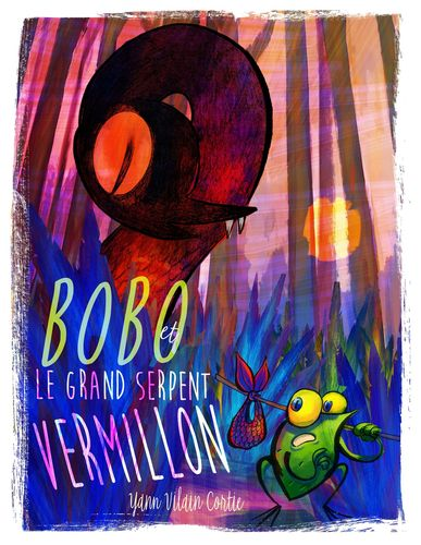 Bobo et le Grand serpent vermillon