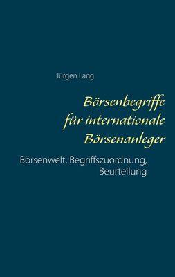 Börsenbegriffe für internationale Börsenanleger