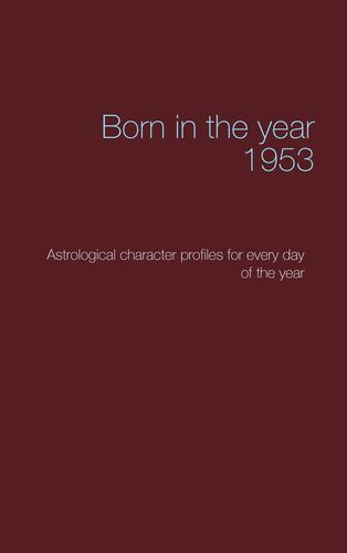 Born in the year 1953
