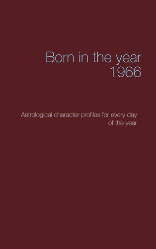 Born in the year 1966