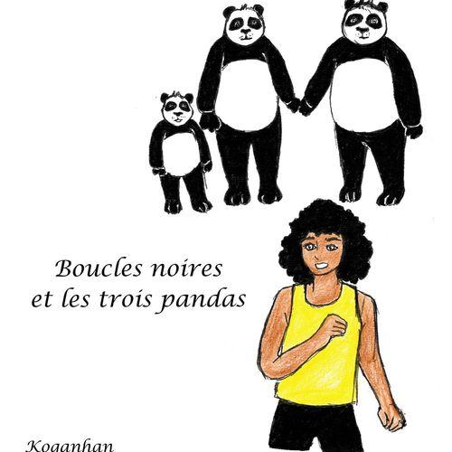 Boucles Noires et les 3 pandas