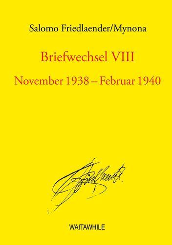 Briefwechsel VIII