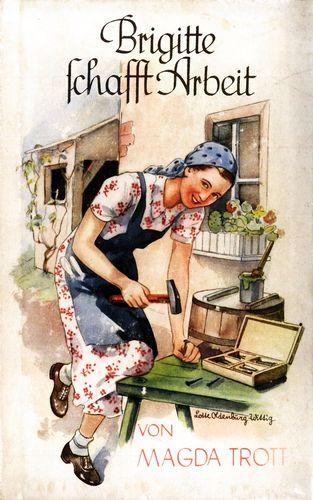 Brigitte schafft Arbeit