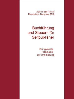 Buchführung und Steuern für Selfpublisher