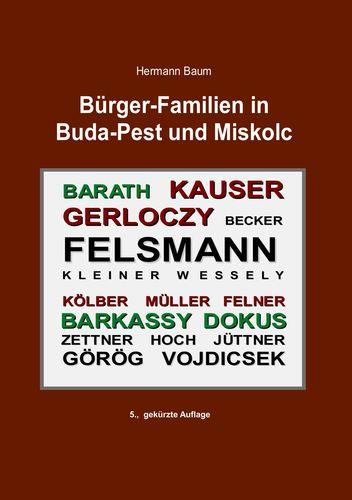 Bürger-Familien in Buda-Pest und Miskolc