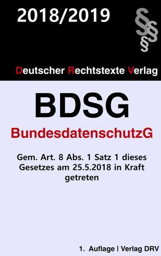Bundesdatenschutzgesetz (BDSG)