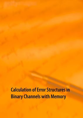 Calculation of Error Structures in Binary Channels with Memory