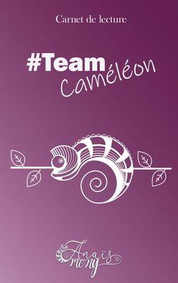 Carnet de lecture TeamCaméléon