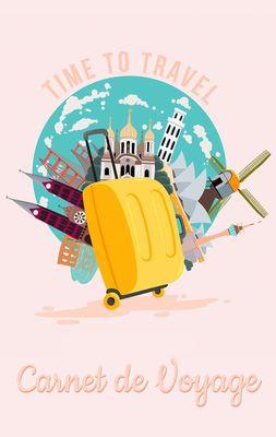 Carnet de Voyage - Journal de Voyage et carnet de notes pour les voyageurs