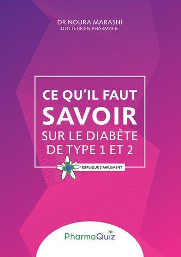 Ce qu'il faut savoit sur le diabète de type 1 et 2