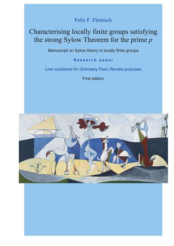 Characterising locally finite groups satisfying the strong Sylow Theorem for the prime p