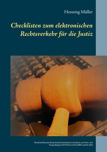 Checklisten zum elektronischen Rechtsverkehr für die Justiz