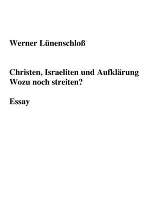 Christen, Israeliten und Aufklärung