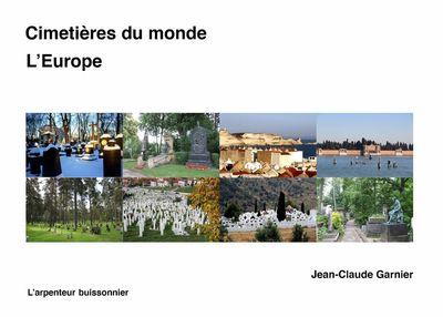 CIMETIERES DU MONDE - L'EUROPE