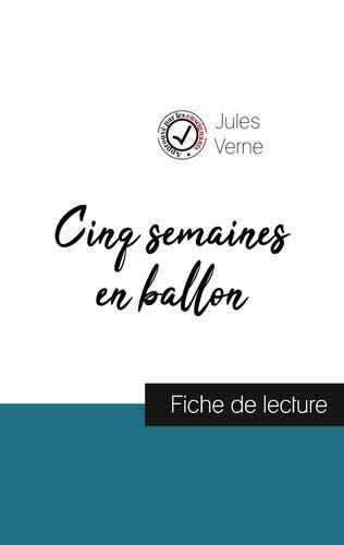 Cinq semaines en ballon de Jules Verne (fiche de lecture et analyse complète de l'œuvre)