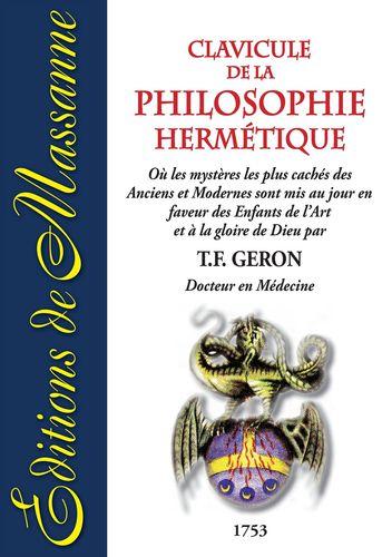 Clavicule de la Philosophie Hermétique