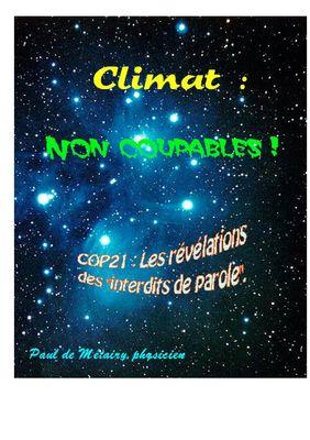 Climat : non coupables !