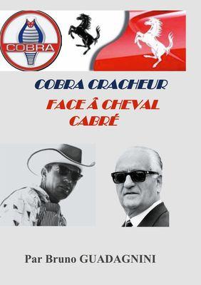 Cobra cracheur face à cheval cabré