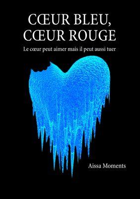 Coeur bleu coeur rouge