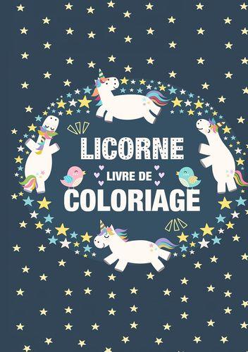 Coloriage Licornes pour Enfants 3-8 ans