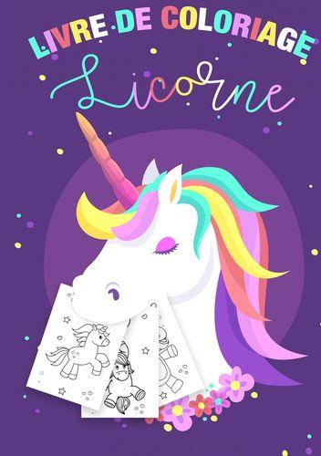 Coloriage Licornes Pour Enfants 3 8 Ans Livre De Coloriage Licorne Et Cadeau Fille