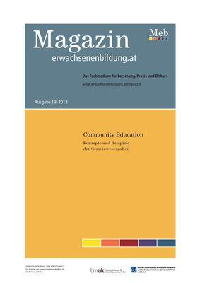 Community Education. Konzepte und Beispiele der Gemeinwesenarbeit