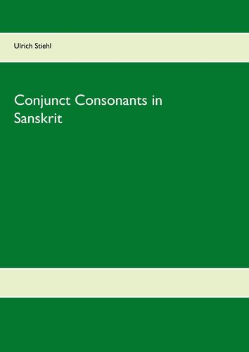 Conjunct Consonants in Sanskrit