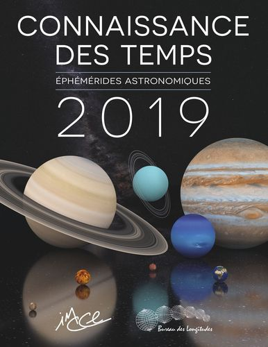 Connaissances des temps 2019