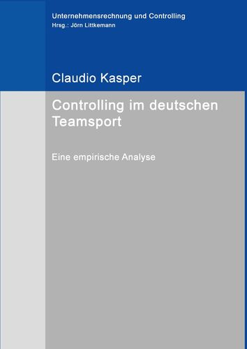 Controlling im deutschen Teamsport