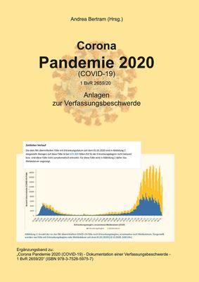 Corona Pandemie 2020 (Covid 19)  - Ergänzungsband
