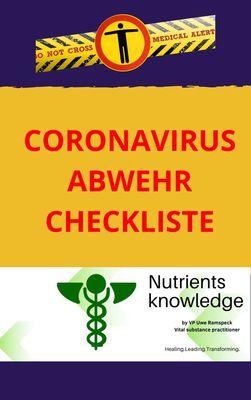 Coronavirus Abwehr