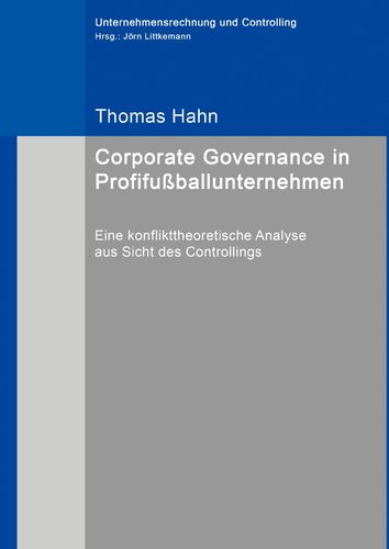 Corporate Governance in Profifußballunternehmen